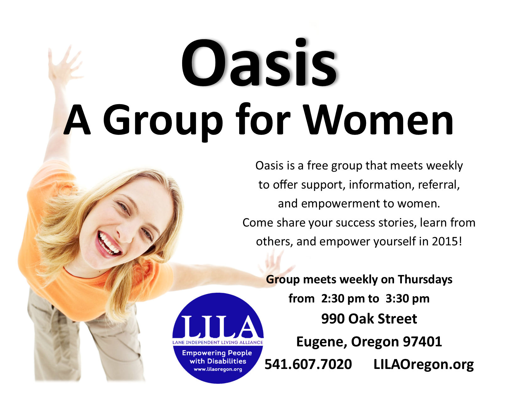 Our Programs Lila Eugene Oregon